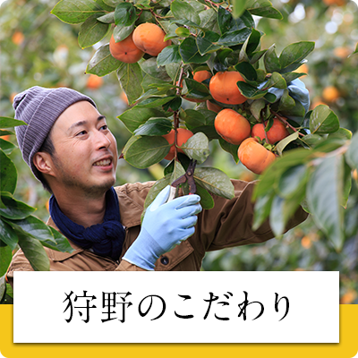 柿作りのこだわり