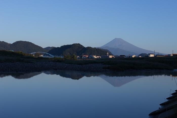 富士山と狩野川