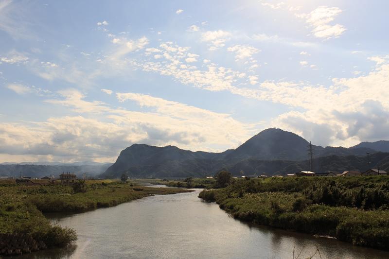 狩野川がよい土を運んでくれます。