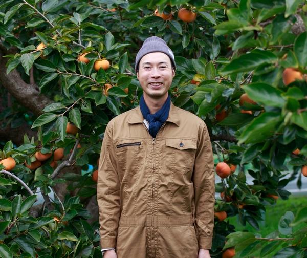 静岡で柿を作り、通販でお届けしている狩野尚希です