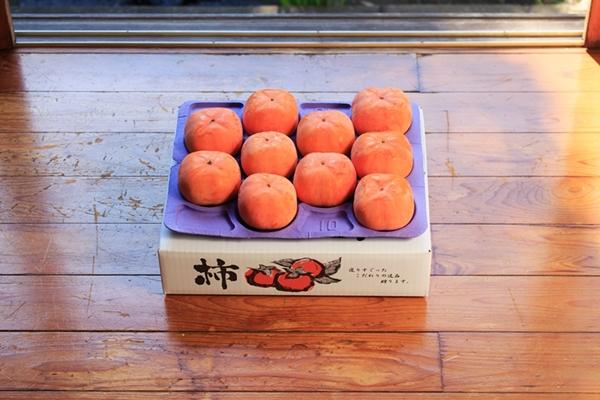 全国から柿のご注文をいただきます