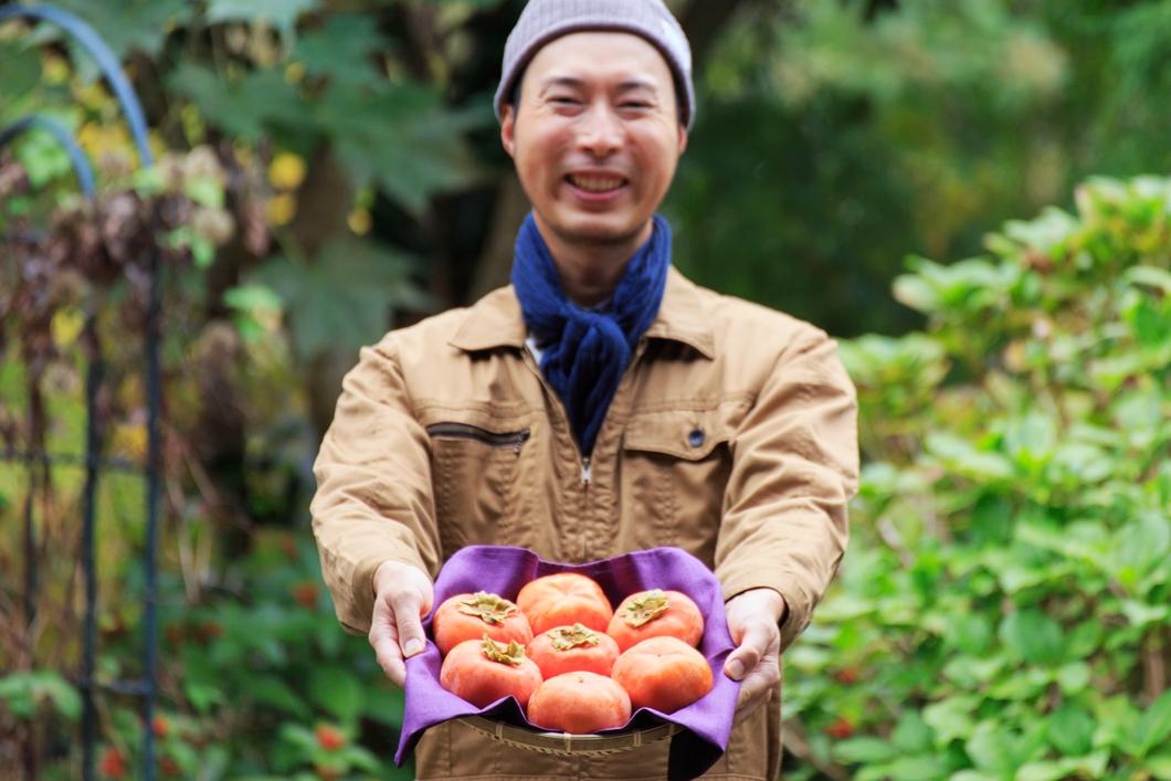 美味しい天野柿をご賞味ください
